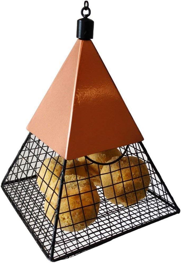 Wildlife Sciences Suet Feeder Geo Pyramid for Suet Balls