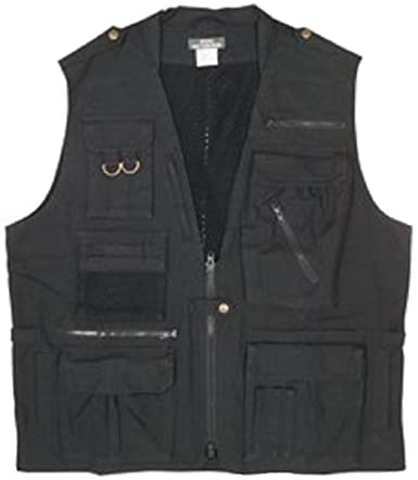 7579 Black Deluxe Safari Outback Vest 3X-large