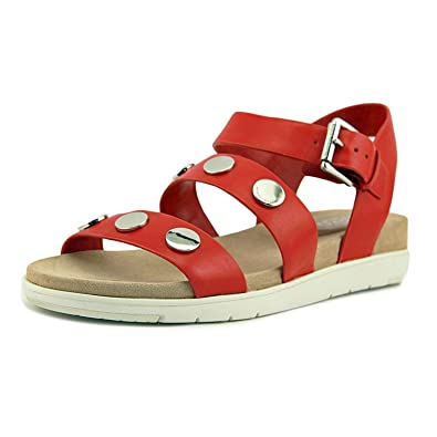 253b0a5c330c3 Michael Michael Kors Womens Reggie Sandal Leather Open Toe