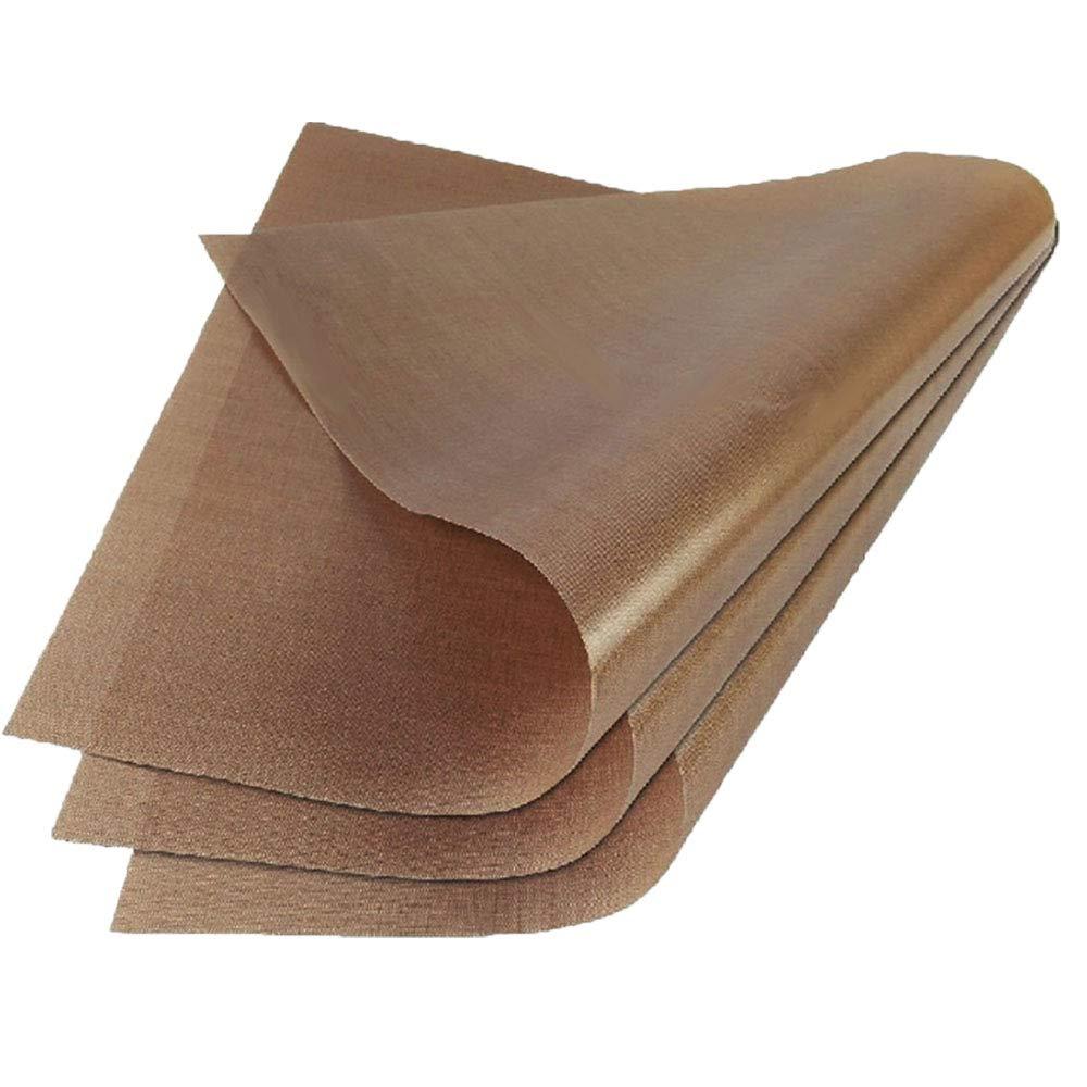 Bangbuy 6 Pack PTFE Teflon Sheet Oil Proof Waterproof Baking Mat 12 x 16 Inch Non Stick Sheets for Baking Oven Heat Transfer Paper Reusable Heat Resistant Craft Mat
