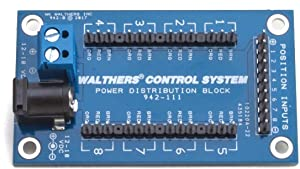 Walthers Z, N, HO, S, O, G Scale Layout Control System - Distribution Block