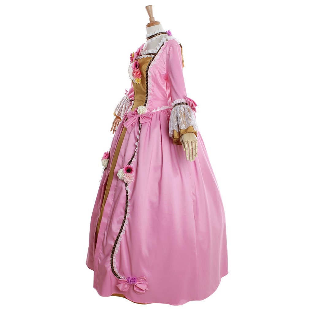 Amazon.com: CosplayDiy Womens Rococo Ball Gown Gothic Pink Dress Costume: Clothing