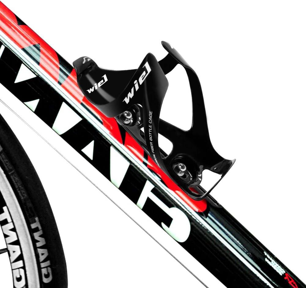 Soporte de fibra de carbono para botella de bicicleta, muy ligero ...