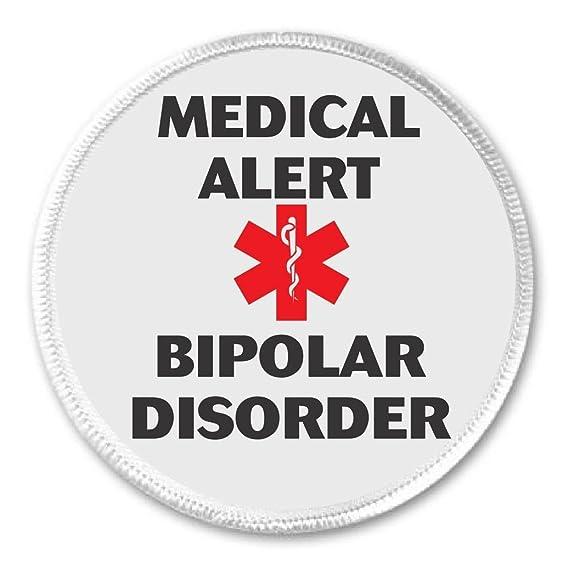 Amazon Medical Alert Bipolar Disorder 3 Sew On Patch Health