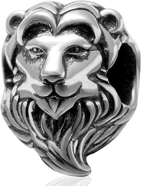 charm pandora lion