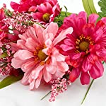Factory-Direct-Craft-Artificial-Hues-of-Pink-Zinnia-Floral-Bush-for-Indoor-Home-Decor