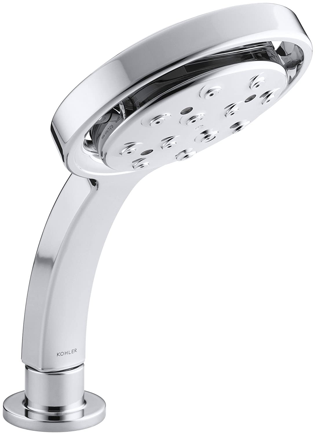 Polished Chrome 2.0 GPM Kohler K45426CP Flipside 02 2.0-Gallon Per Minute Multifunctional Hand shower, Polished Chrome