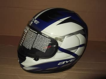 Casco Integral Moto Original Yamaha Bye R6 Negro/Azul Designe Suomy Talla XL