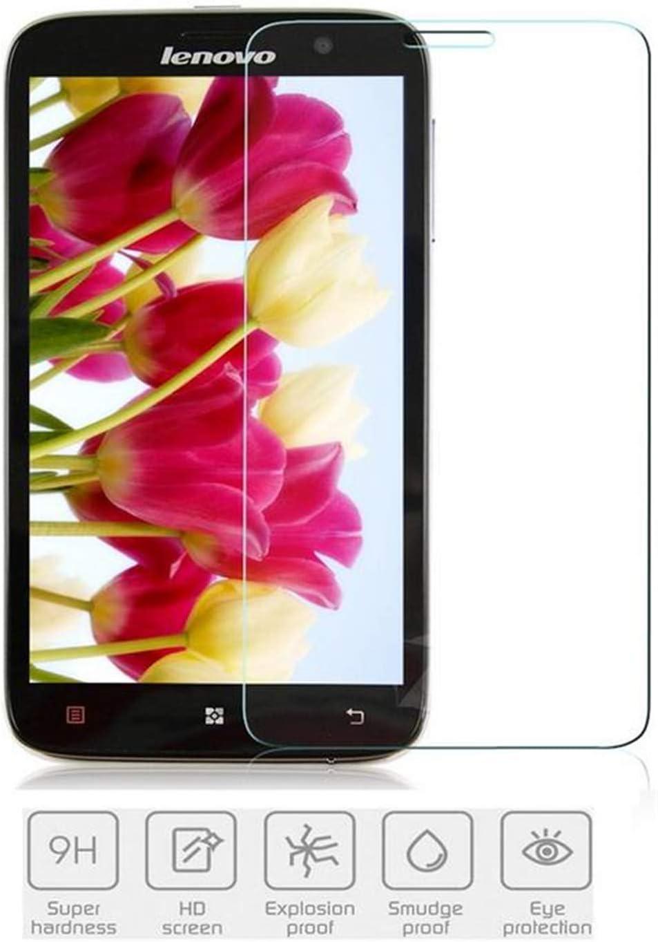 anzeal [2-Pack Lenovo A850 Tempered Glass Screen Protector,[Anti-Scratch][Anti-Fingerprint][Scratch Resist] Tempered Film Glass for Lenovo A850 [Non-Full Screen]