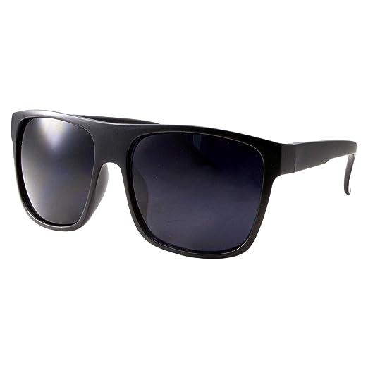 e4a9eec65e Amazon.com  MMA Post Fight Interview Sunglasses Limo Tint Super Dark Lens  Mens Large Black Freestyle Thin  Clothing