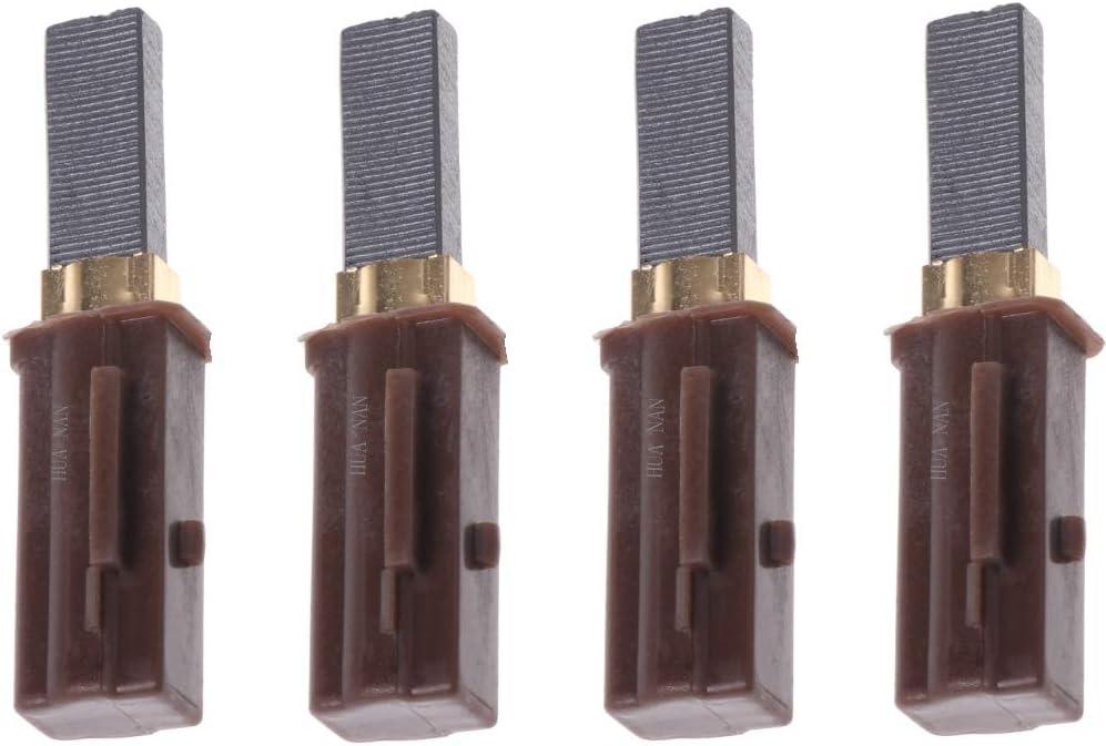 Vacuum Motor Carbon Brush 4Pack for Ametek Lamb 2311480, 333261, 33326-1