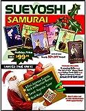 Sueyoshi Samurai Gift Set 5 DVDs + Art of War, Spirit T-Shirt, Tanto $195 Value