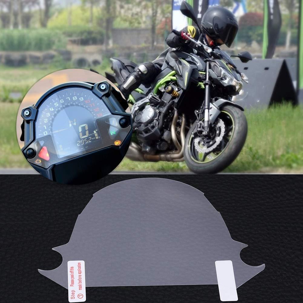 Pellicola antigraffio for cluster Pellicola for tachimetro for moto Protezione antigraffio for moto Protezione schermo for cluster for Kawasaki Z650 Z900 2017