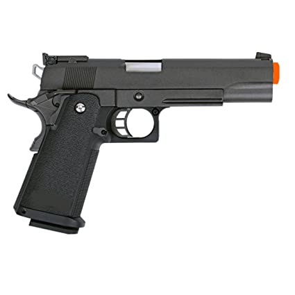 Amazon.com : WE 1911 Pistol Full Metal Gas Gun Blow Back Airsoft ...