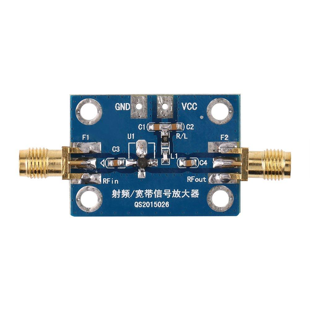 0.1-2000MHz RF Amplificador de Banda Ancha Módulo de Amplificador de Radio de Jamón 30dB Alto Ganancia de Ruido LNA Junta de Amplificador Walfront EXPSFN019014