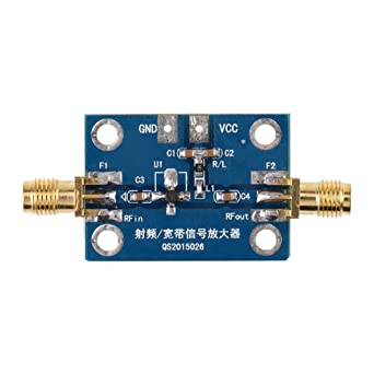 Amplificador de banda ancha de 0.1-2000 MH Z rf 30dB Módulo de banda ancha de bajo ruido LNA receptor