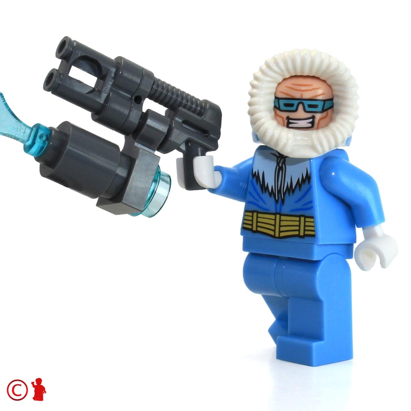 Captain Cold LEGO DC Super Heroes Justice League MiniFigure 76026 with Freeze Gun