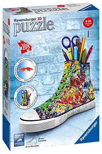Ravensburger Sneaker Graffiti Style Jigsaw Puzzle (108 Piece), - Ball Puzzle Ravensburger
