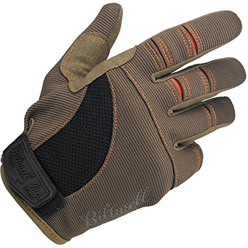 Biltwell Moto Gloves - Brown / Orange - XL