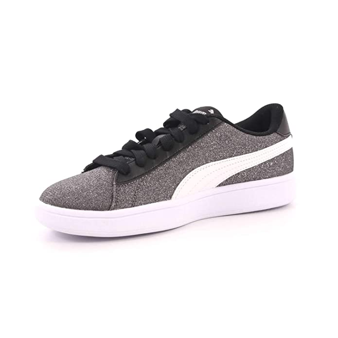 9c76794f132133 Puma Smash V2 Glitz Glam JR Scarpa Bambino Sportiva 36737704  Amazon.co.uk   Shoes   Bags
