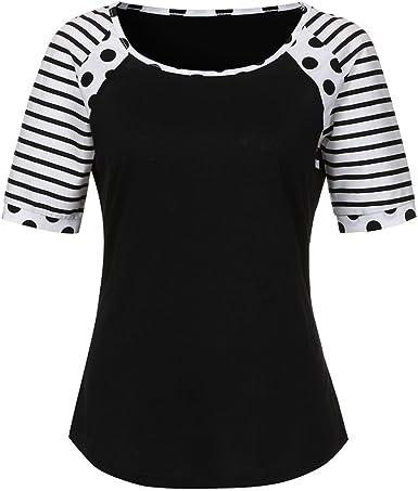 AIMEE7 Mujer Vetements T Shirt Mujer Pas Camisa Chic Tarde ...
