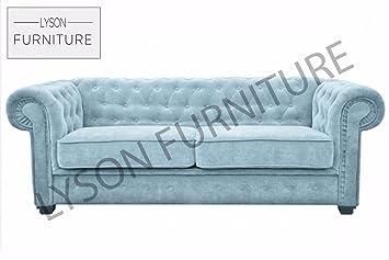 Imperial Canapé lit (Chesterfield) Tissu (différentes ...