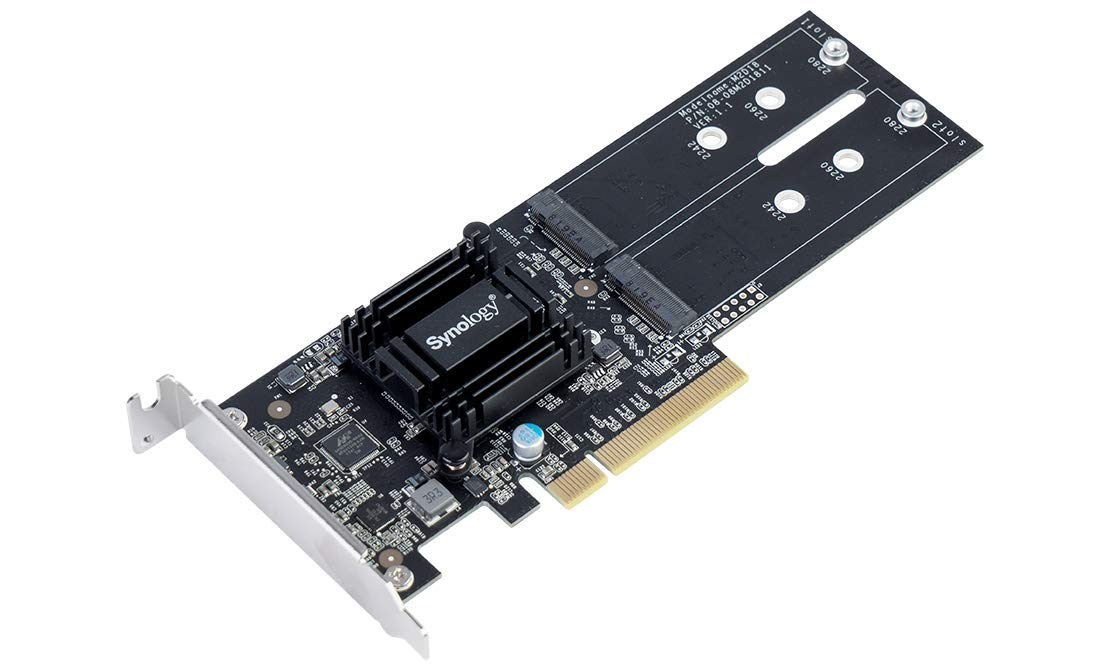 Synology M.2 Adapter Card (M2D18) by Synology