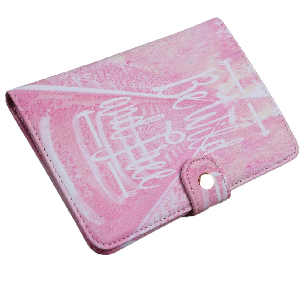 eroute66 Flamingo Pineapple Travel Credit Card Passport Cover Case Holder