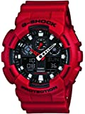 G-Shock Men's X-Large GA100 Red Watch