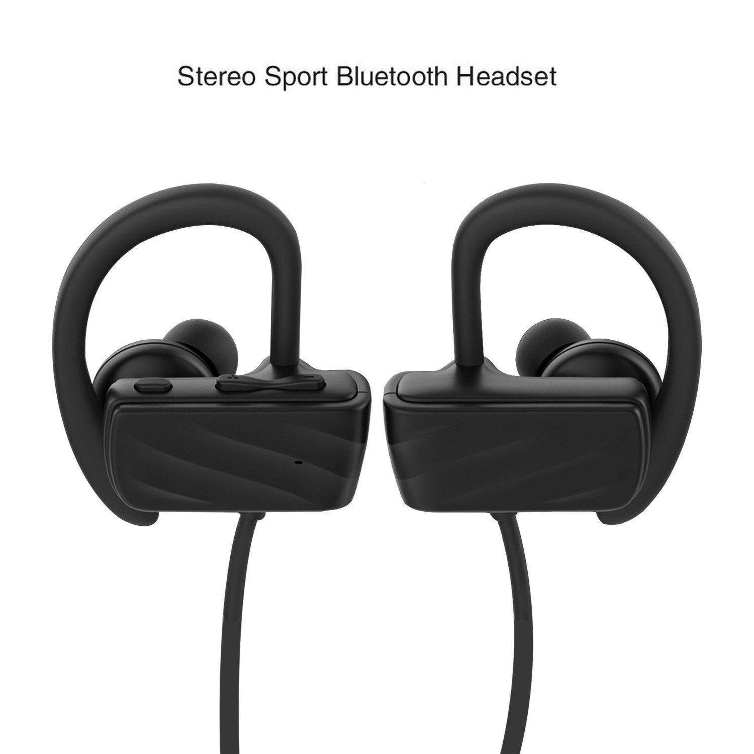 saiveina Bluetooth Headset Wireless Bluetooth 4.1 Headset with Mic  Noise-Cancelling In-Ear Headphones Headset Sport Waterproof IPX4 for iPhone  Android ... 5e959e7c9c411