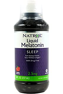 Natrol Melatonin 2.5 mg Liquid 8 oz (Pack of 3)
