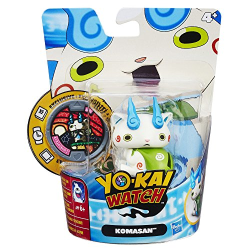 Hasbro, Kai Watch B5940EL5Toy Figure Medal Friends KOMAsan, Collectible Toy