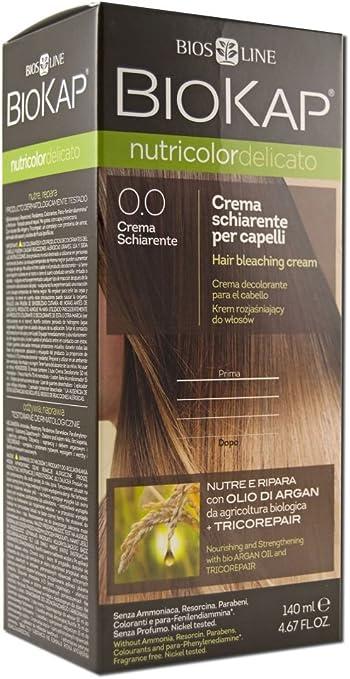 Biokap Crema Decolorante Nutricolor Bleaching Cream 1 Unidad ...