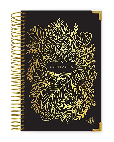 Family Address Book - bloom daily planners New Hardcover Contacts/Address Book - 6