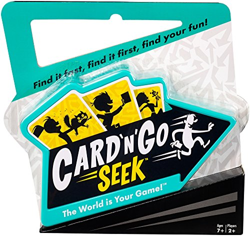 Card 'N' Go Seek is an indoor active game for kids
