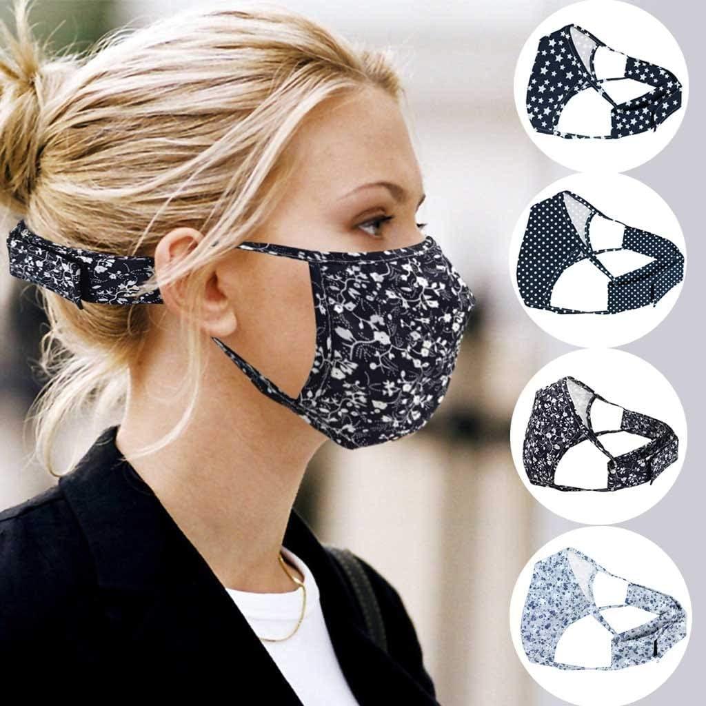 Rusilay Adults Mouth Cloth,Washable Face Bandanas,Reusable Facial Scarf 5//10 PCS Facecloth,Men Women Outdoor Use