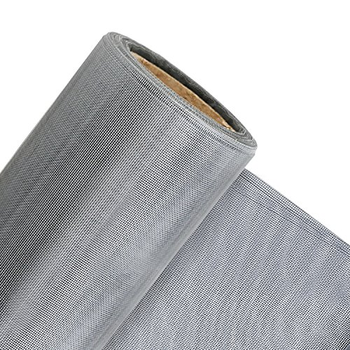 Grey Custom Fabric (Window Screens, 48X99 inch Window Mesh DIY Custom Gray Fiberglass Screen Door Replacement Mesh Anti Mosquito Bug Insect Screen for Windows and Doors)