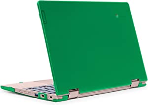 """mCover Hard Shell Case for Late-2019 11.6"""" Lenovo C340 Series 2-in-1 Convertible Chromebook Laptop (NOT Fitting Lenovo C330 N21 N22 N23 N24 100E 300E 500E Flex 11 Yoga 11e) (LEN-C340 Green)"""