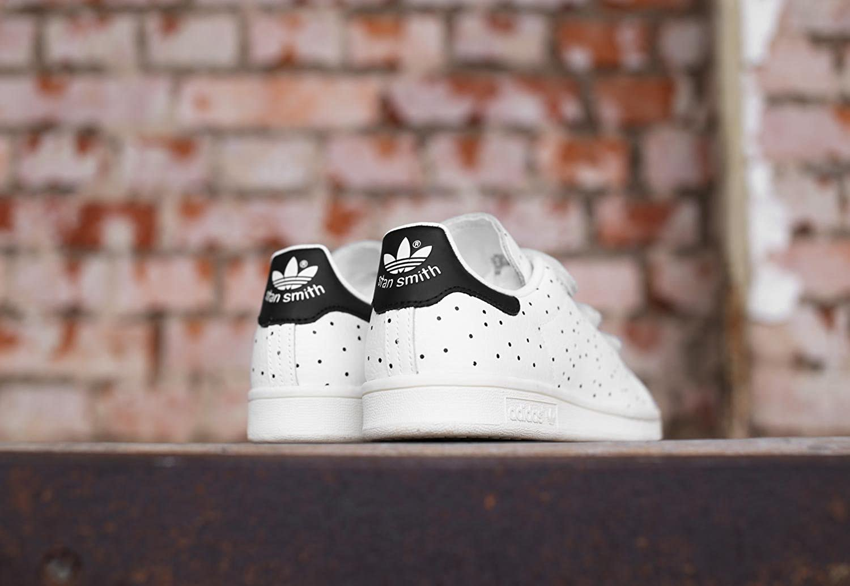 Adidas Women's Stan Smith Cf Sneaker Low Neck, White (Core