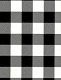 BLACK BUFFALO CHECK WRAPPING PAPER, 24'' x 20 FT ROLL - Lumberjack Party Supplies