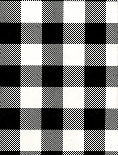 Black Buffalo Check Wrapping Paper, 24