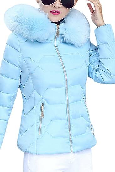 YMING Damen STEPP FRÜHLINGSMANTEL Winter Jacke Parka ÜBERGANGSJACKE Kapuze  Zipper,BALU-A,XXS 40ac6871c2