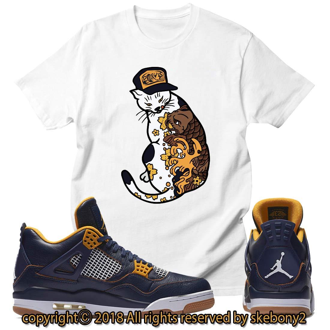 vast selection best shoes cheap for discount Custom T Shirt Matching Nike Air Jordan 4 Dunk Above JD 4-6 ...