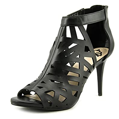 bfd14c53e777 Fergalicious Womens Huddle Peep Toe Casual Strappy Sandals