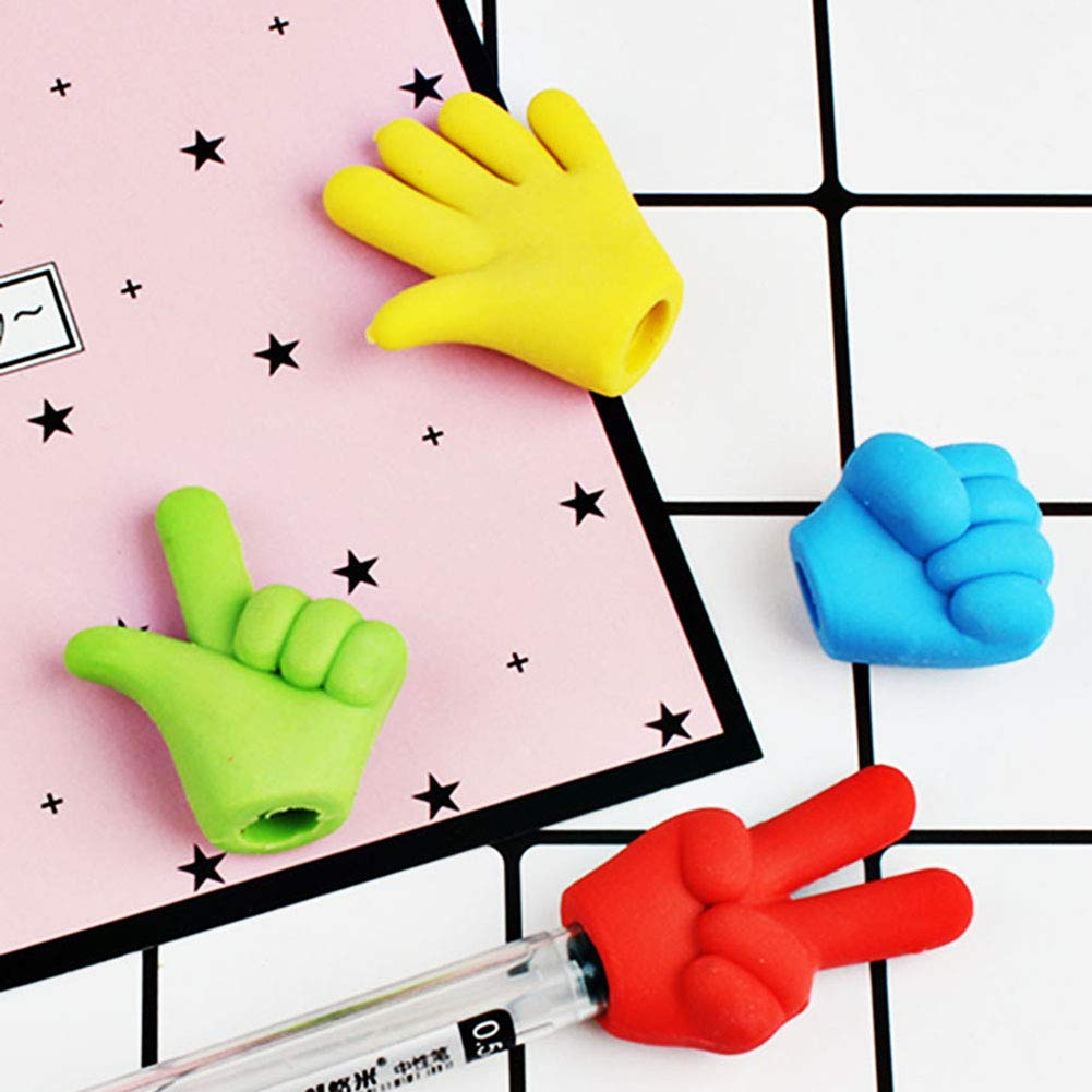 Chige Pencil Top Erasers, 40 Pack Pencil Eraser Toppers Caps, School Supplies Erasers for Kids Teachers, Best Puzzle Toys for Kids Fun and Games by Chige (Image #6)