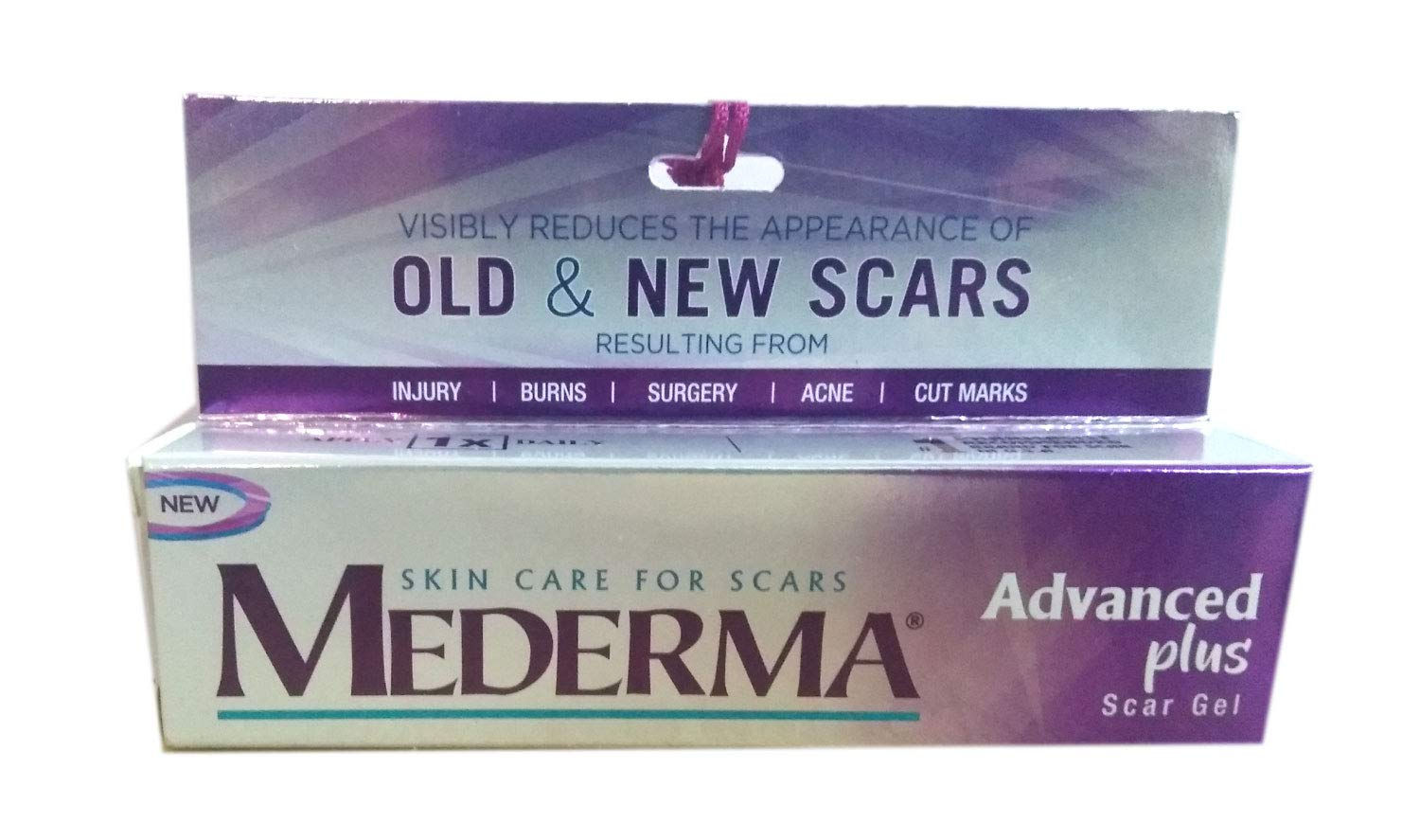 Mederma Skin Care Gel For Scars Acne Stretch Marks 10gm By Mederma