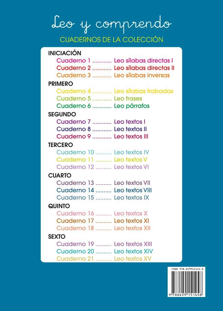 Lecturas comprensivas 14 - Leo Textos VIII: Amazon.es: José Martínez Romero: Libros