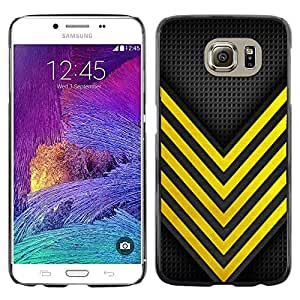[Neutron-Star] Snap-on Series Teléfono Carcasa Funda Case Caso para Samsung Galaxy S6 [Abeja Avispa Seguridad Peligro Racing]