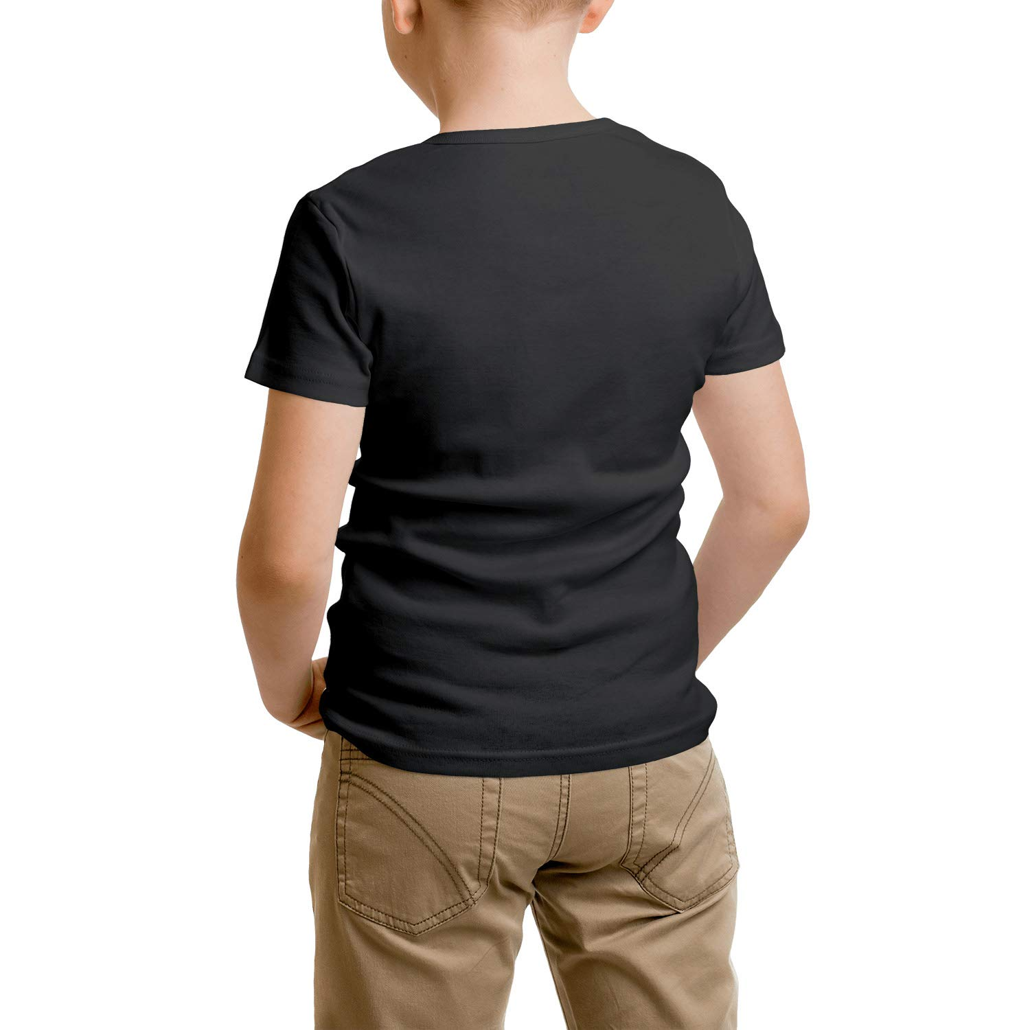 MOWAN Boys Short Sleeve Crew Neck Tshirt Simple Get Together Tee