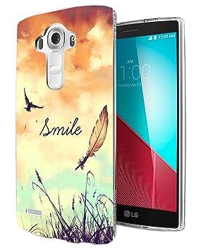 187 - Cute Birds And Sky Smile Fun Design LG G3 Fashion ...